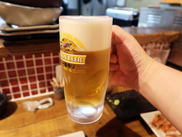 生ビール 480円