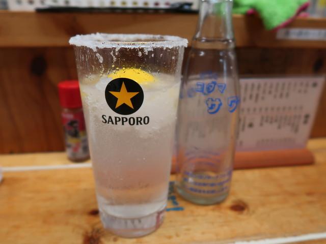 レモンサワー 380円