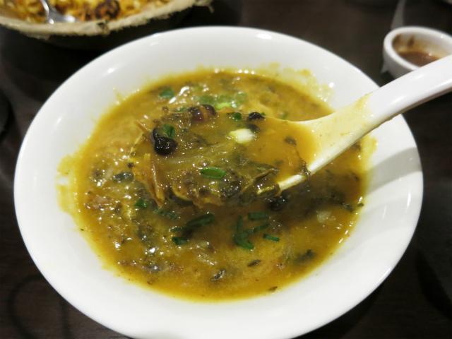グンドゥルックは高菜漬けにも似た酸味と辛味
