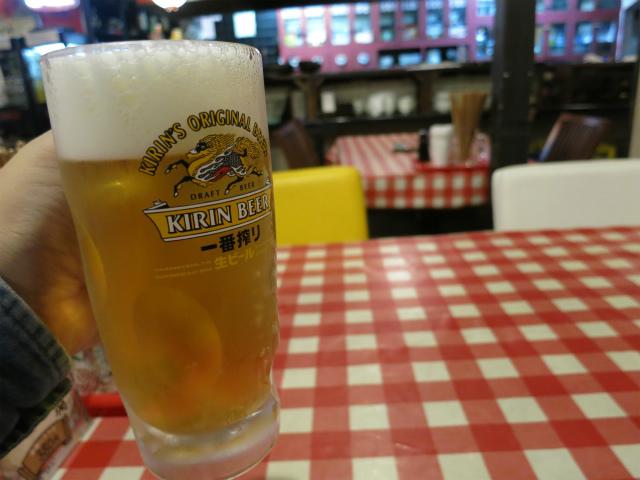 生ビール 580円