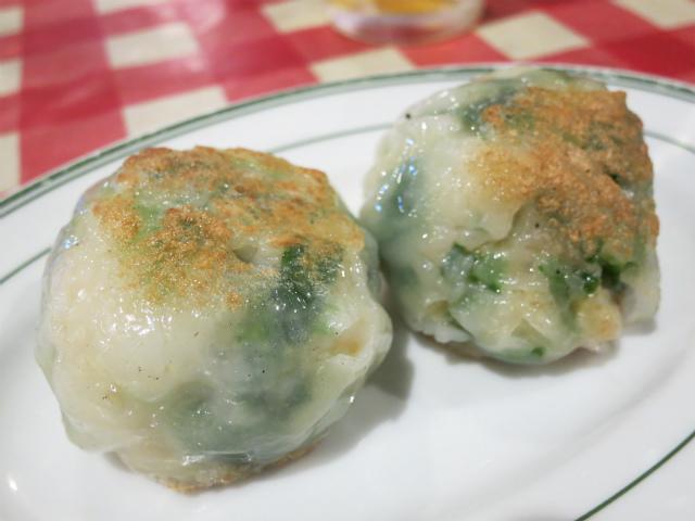 元祖 韮菜まんじゅう(Chive dumplings) 2p 580円