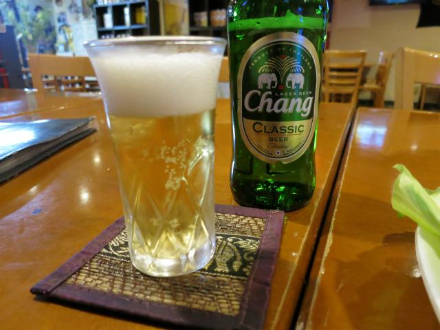 チャーンビール(BEER CHANG)