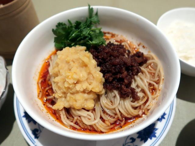 重慶式 豌卆面(豌雑麺)