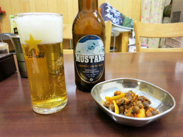 ムスタンビール 600円