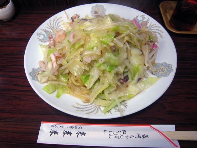 皿うどん(太めん) 850円
