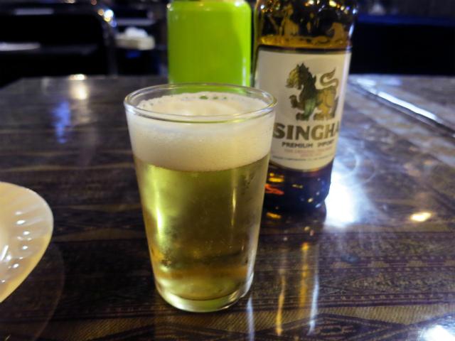 シンハービール 700円