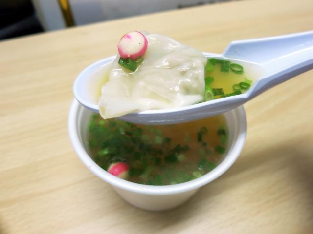 ワンタンスープ 150円