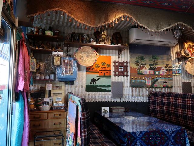 エジプシャンレストラン&カフェ スフィンクス 店内の様子