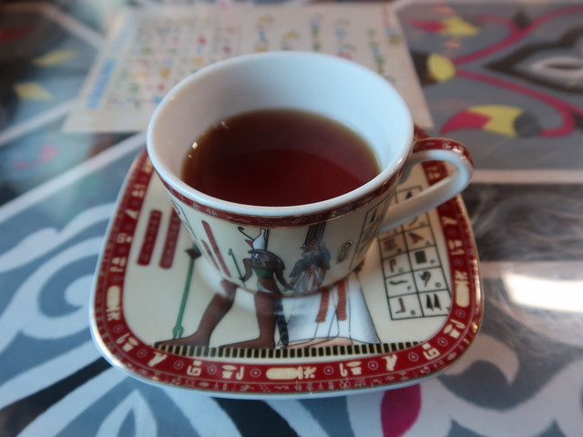 エジプトの紅茶、シャーイで締め
