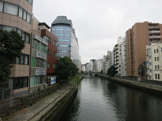 茅場町 亀島川