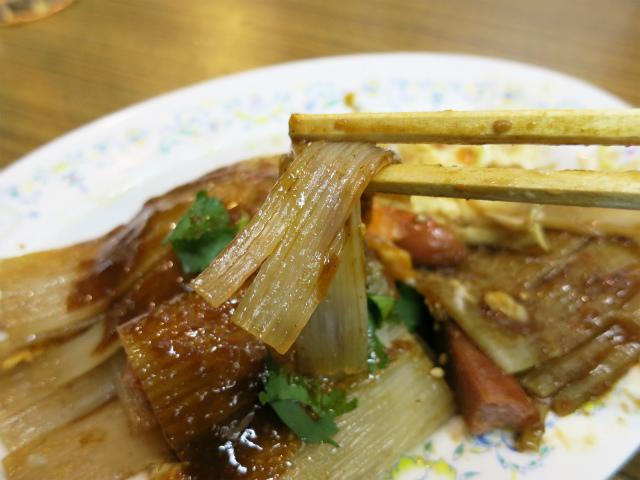 シート状の独特な麺