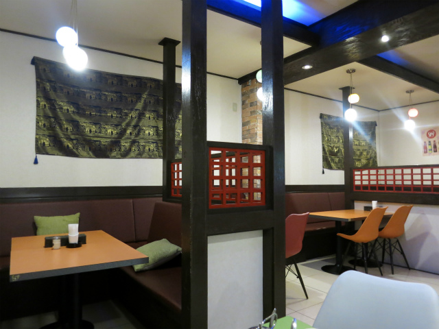 タイ料理 タイコウ 店内の様子