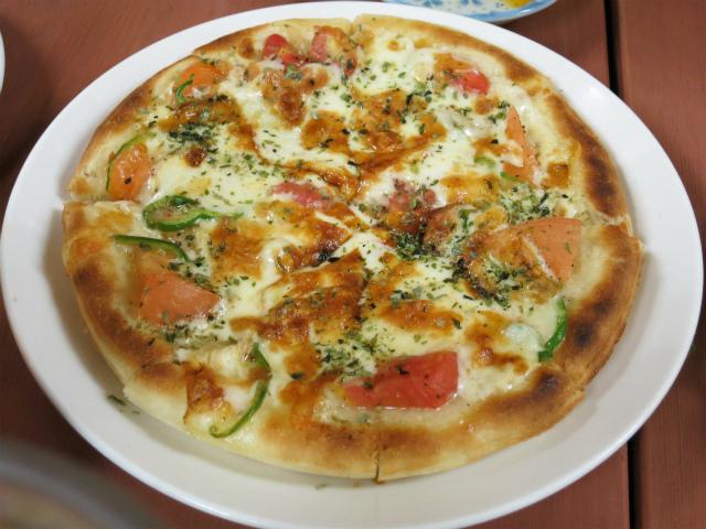 野菜ピザ 500円