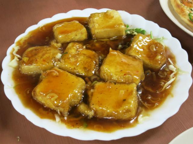 油淋豆腐 400円