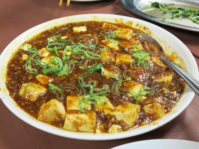 麻婆豆腐 300円