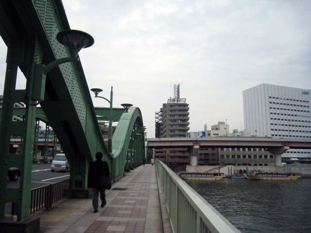 隅田川 蔵前と本所を結ぶ厩橋