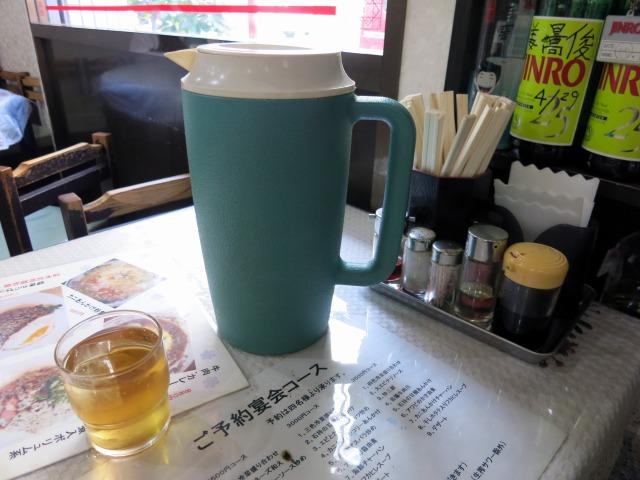 暑い日だったので冷たいお茶が美味しい