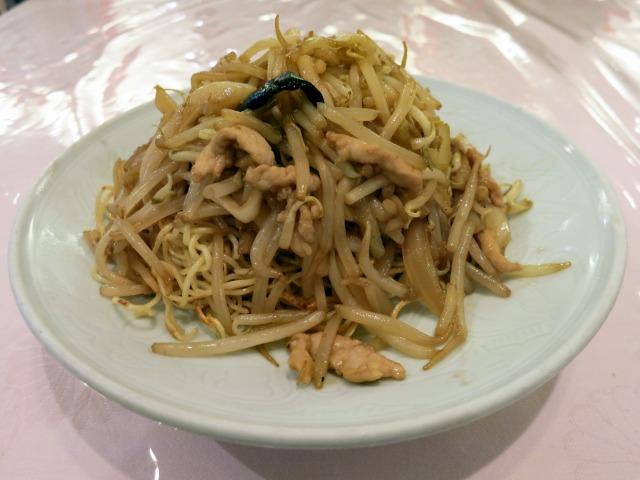 揚子江菜館(明39) 上海式肉焼きそば