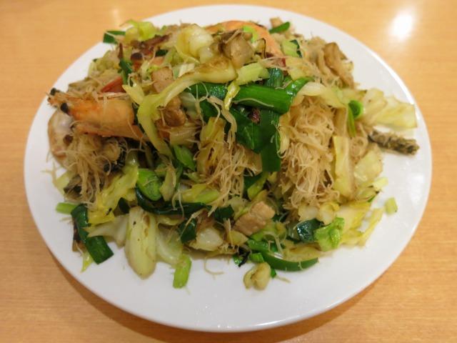 福建焼きビーフン(福建炒米粉) 1000円