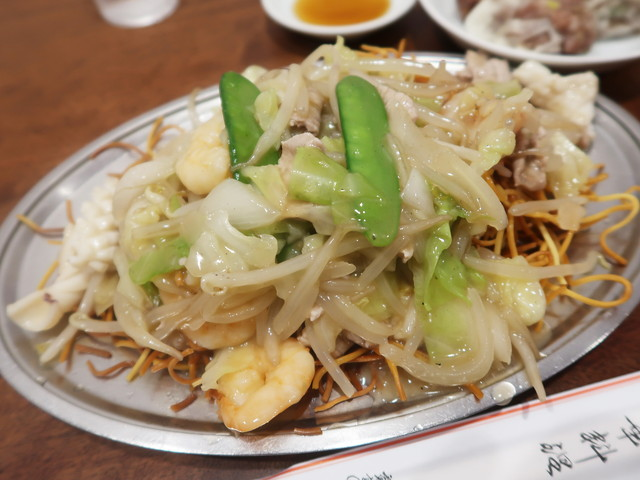 揚州炒麺(五目かたやきそば) 850円