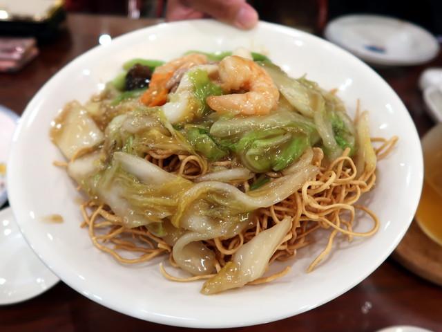 五目焼きそば(什錦香炒麺) 1600円