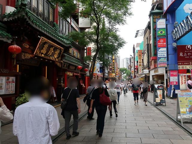 賑わいを取り戻しつつある横浜中華街