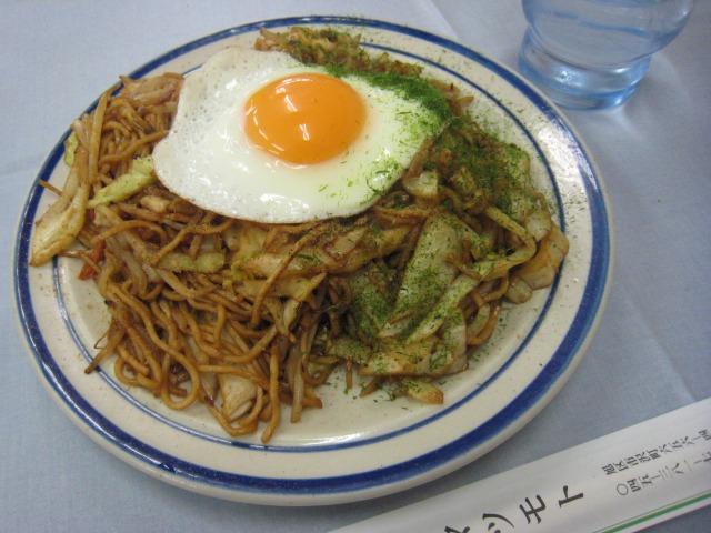 焼きそば 玉子・ソース味 578円