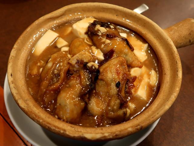 生蠔豆腐煲