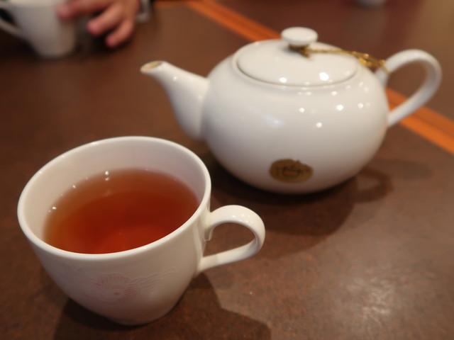 ジャスミン茶で歓談