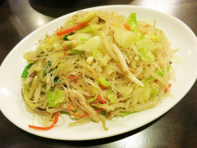 台湾風焼きビーフン(炒米麺) 700円