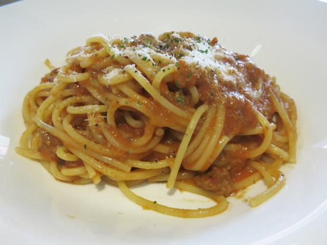 イタリア軒のミートスパゲティ