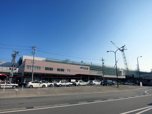 北陸新幹線開通に備える富山駅