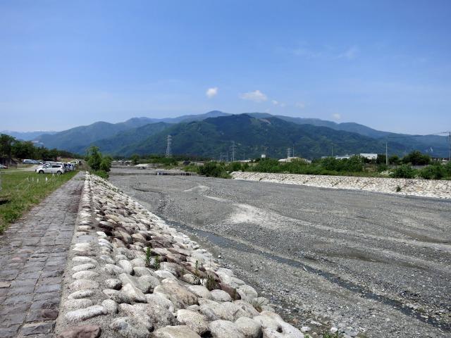 富士川水系 御勅使川(みだいがわ)
