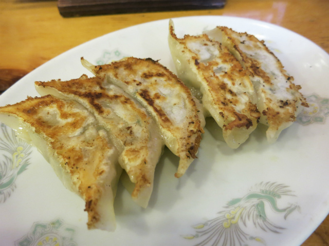 手作り餃子(5ヶ) 300円