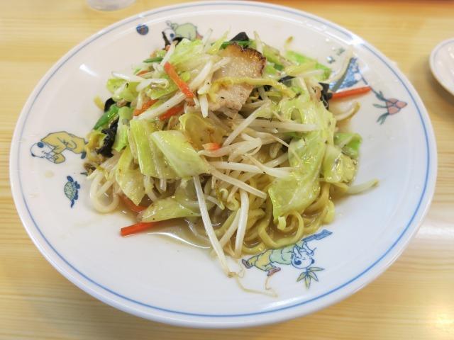 チャーメン(炒めそば) 530円