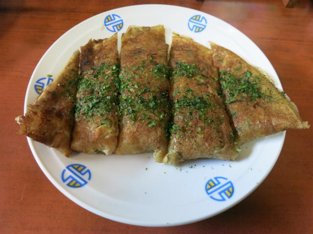 野菜入りお好み焼き 350円