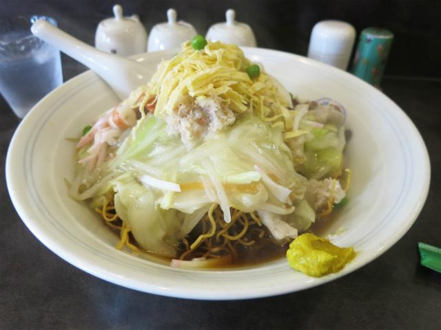 伊府湯麺(汁入焼そば) 1150円