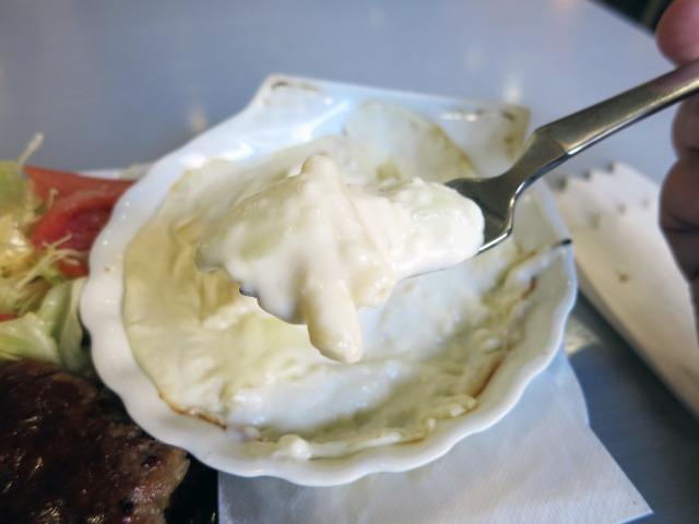 白くて熱いマカロニグラタン