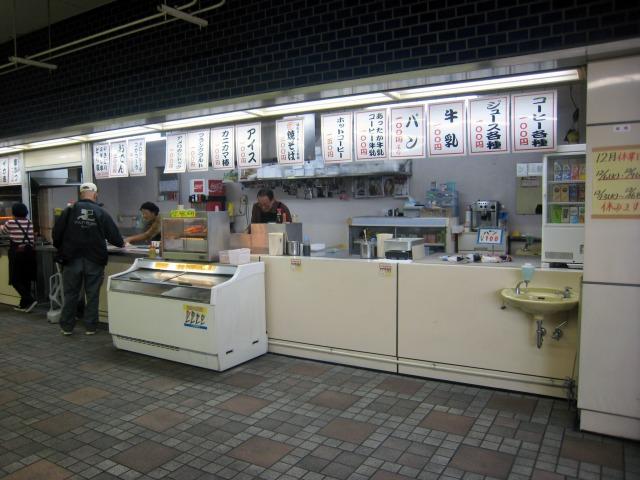 メインスタンド2F 東売店