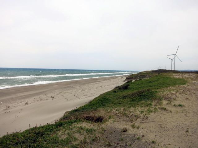 浜岡砂丘 見渡す限りの砂の丘