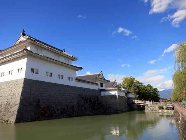 静岡市の中心 駿府城