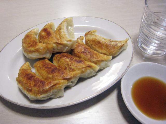 餃子(小・8ヶ) 400円