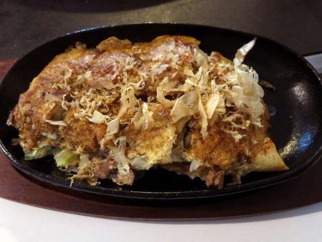 肉玉お好み焼 350円