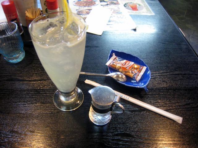生レモンスカッシュ 450円
