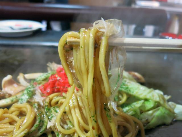 湯がきたての生麺が美味い!