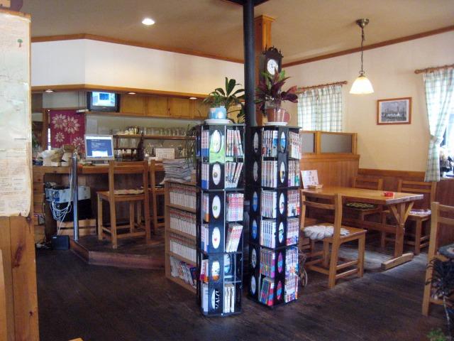 カフェレストボーイ 店内の様子