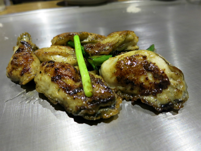 牡蠣(冬季限定) 918円
