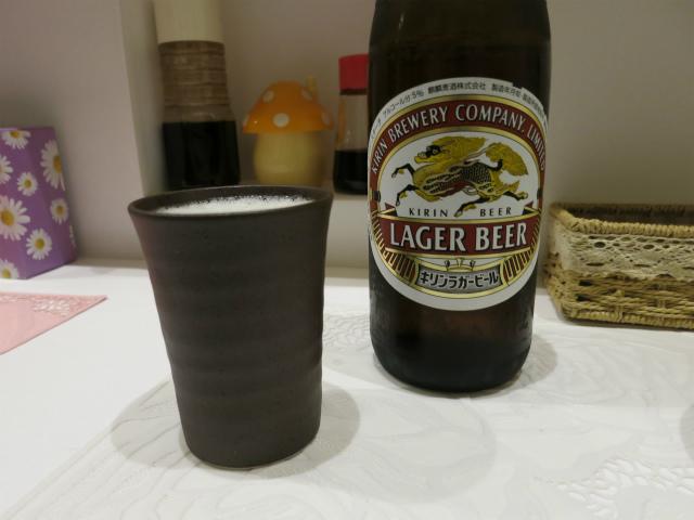 瓶ビール 600円