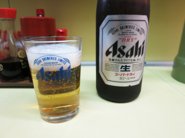 ビール(中瓶) 600円