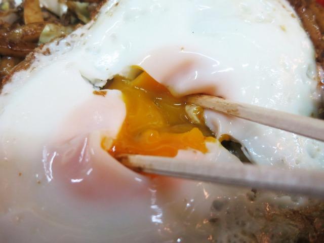 目玉焼は半熟&カリカリの自分好み